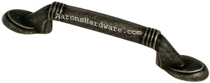 9660-ASM-D Cabinet Handle Weathered Steel 3 Inch Hole Spacing