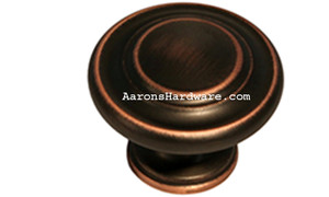 9653-ACBH-D Cabinet Knob Antique Copper Bronze HiLite