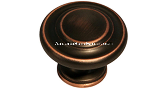 9653-ACBH-D Cabinet Knob Antique Copper Bronze HiLite