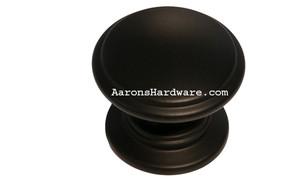 "9669-DBK Cabinet Knob Matte Black 1 ¼"" Diameter"