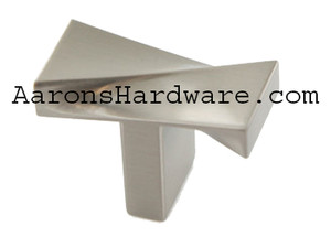 8110-BSN Cabinet Pull In Brushed Satin Nickel or Polished Chrome