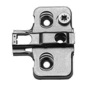 """105-T00TQ ( old H0ET-1 )  DTC /MFH Hinge Plate.  For DTC /MFH """"clip on"""" hinges ONLY."""