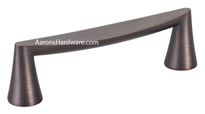 2349-10VB-P Cabinet Handle is a great pull for use on doors in the kitchen as well as any other place that cabinet doors are used.   The  Verona Bronze Finish is suitable for many door colors.  Use this 160mm Centers pull on all or mix with shorted and longer handles to customize your job.