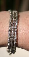Triple silver bracelet II