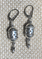 Turkish sterling insense burner earrings