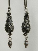 Balinese tear drop earring