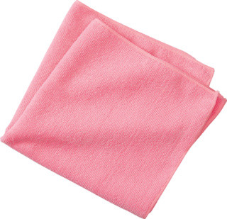 """Great for cleaning and dusting all types of surfaces Ultra-soft and non-abrasive material Microfiber weave lifts away dust and other small particles Provides lint- and streak-free results 300 GSM thread count 16""""H x 16""""W Case Quantity: 24  Washing Instructions: Machine washable (cold or warm water). Do not use bleach or fabric softener. Dry on low or medium heat."""