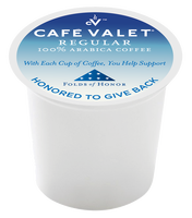 Café Valet® Folds of Honor Regular Capsule - 80ct