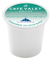 Café Valet® Folds of Honor Decaf Capsule - 80ct