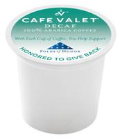 Café Valet® Folds of Honor Decaf Capsule - 80ct