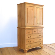 Luella's Armoire- English Pine