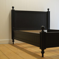 EFF- 2250 Farmhouse Beadboard Bed - Black Walnut