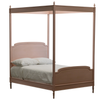 EFF-2748 Madeline Four Poster Bed - Pink