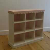 Cottage Cubby - Pink and White
