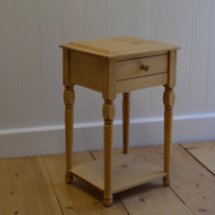 Petite Lamp Table - English Pine