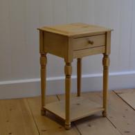 Petite Lamp Table - English Pine