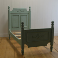 Emma's French Country Bed in Aqua