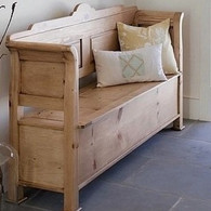 Farmhouse Entry Bench
