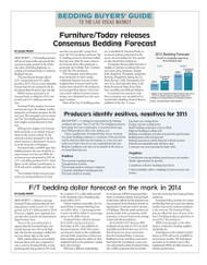 Furniture Today's 2015 Bedding Forecast