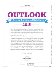Gifts and Decorative Accessories Trends & Forecasts Report  2016