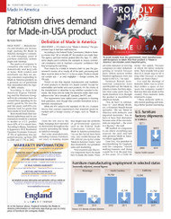 Furniture Today's Made in America report