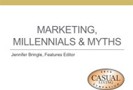 Marketing, Millennials & Myths