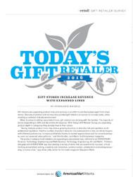Gifts & Dec Today's Gift Retailer 2016
