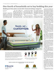 Furniture Today's Bedding Consumer Buying Trends Report 2, 2017