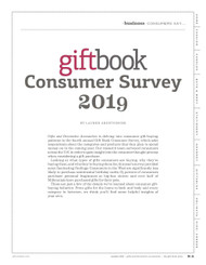 Gifts and Decorative Accessories' Gift Book for 2019