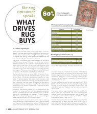 Home Furnishings News Consumer Speaks Report: Area Rugs