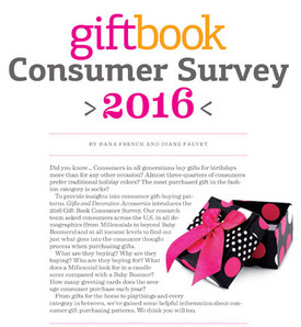 Gift Book Consumer Survey 2016