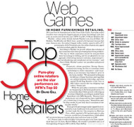 HFN Top 50 Retailers in Home Furnishings for 2015