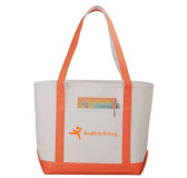 Heavyweight Canvas Boat Tote