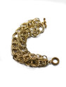 "MULTI STRAND GOLD RACELET   8"" LONG, WILL MAKE TO SIZE"
