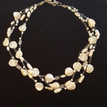 "#AN78 Delicate and Classic Multiple Strands of Hand-Crocheted French Pearls  Price  18"" @ $115. --20"" @ $120.  --  25"" @ $135."