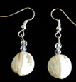 #A81  French Pear Earrings to match $25. Available in Wire, Post or Clip on