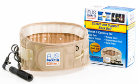 Back Brace Support Belt, Back Pain Relief Traction Belt by Aus Physio