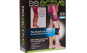 Be active Brace Pressure Pad Leg Brace for Back Pain beactive