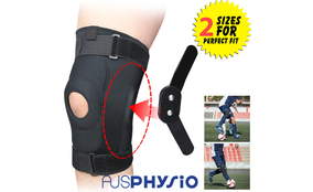 Full Knee Support Brace Double Metal Hinged Support Knee Brace Aus Physio