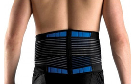 Lumbar Lower Back Support Belt Brace, Heavy Duty.