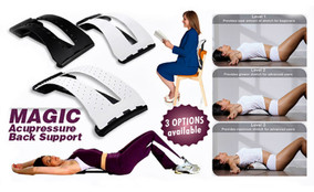 True Magic Back Traction Device – back stretcher.