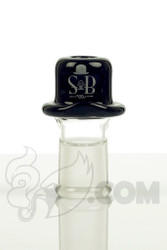 Sheldon Black - 14mm Black Derby Dome with SB Logo