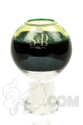 Sheldon Black - 14mm SB Slyme Glass Dome