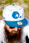Illadelph - Grassroots Smoking Monkey Snap Back Hat
