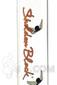 "Sheldon Black - 13"" Medio Beaker with Copper Signature Logo Sig"