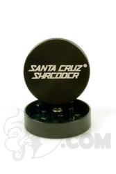 Santa Cruz Shredder - 2 Piece Small Black Grinder