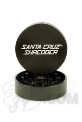 Santa Cruz Shredder - 2 Piece Medium Black Grinder