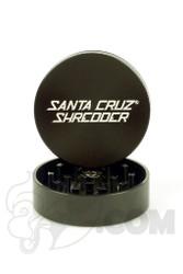 Santa Cruz Shredder - 2 Piece Medium Black Grinder