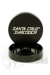 Santa Cruz Shredder - 2 Piece Large Black Grinder