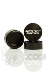 Santa Cruz Shredder - 3 Piece Small Black Grinder